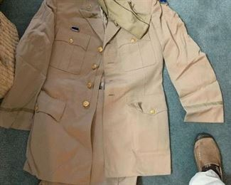 #198Khaki Dress Jacket and Pants $30.00