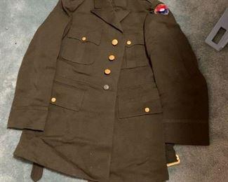 #199Dark Green Wool Dress Jacket only $15.00