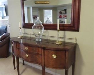 $300.00, Fabulous Thomasville sideboard excellent condition, 66 x 3' tall