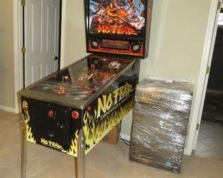 $2200 No Fear Pinball machine, running error codes minor issue