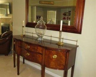 """$175.00, Thomasville mirror 66"""" wide"""