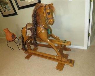 Custom rocking horse