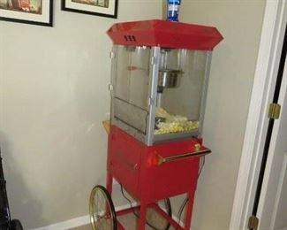 $125.00, popcorn machine