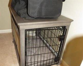 Custom dog crate 3'