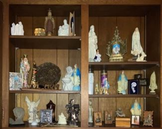 Religious Articles from Fatima, Lourdes, Rome, Medjugorje , & Various Religious Sites