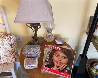 End Table/Lamps