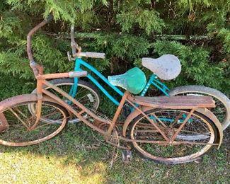 Vintage Ladies Bicycles