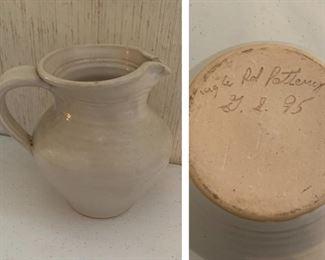 Cagle Pottery Pitcher