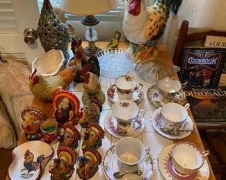 Fine China Cups and Saucers