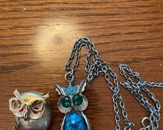 Owl Themed Jewelry