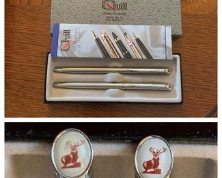 Quill Pen/Pencil Set