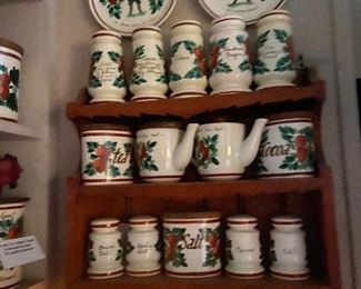 Vintage Bauer Strawberry pattern. All mint