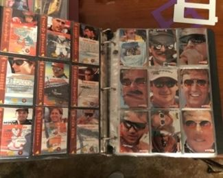 Many Signed Racing Cards