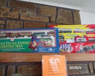 train sets for your Christmas decor