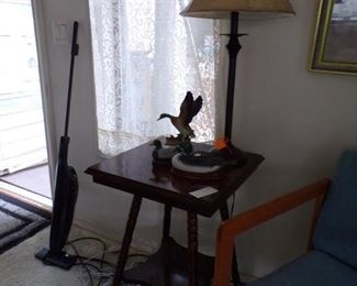 vintage oak table