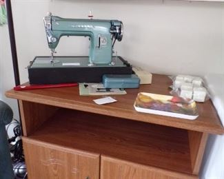sewing machine & stand