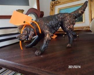 metal dog