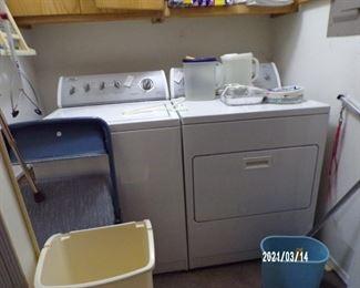 washer & dryer, good working condition