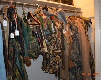Hunting gear - dove decoys