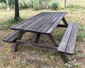 Picnic Table:  $130.00