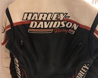PRE-SALE item - Ladies Screamin Eagle HARLEY DAVIDSON leather jacket size M - $150