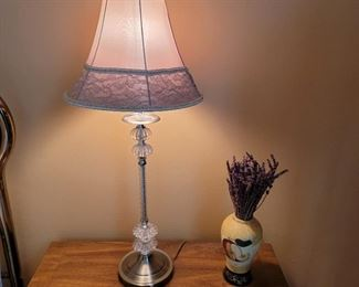 """(2 lamps available) 30""""h"""