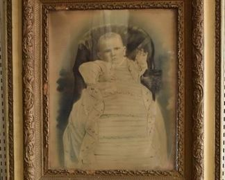 """Baby in Baptismal Gown 