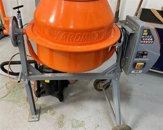 Yardmax 4 cubic feet concrete mixer