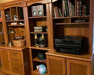 office cabinets with file cabs and desktop