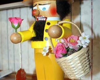 Steinbach Nutcracker, Cheerio My Love, Signed