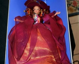 Barbie Doll Collection All New In Box, Qty 5, Including Autumn Glory, Ring In The New Year, Ballet Mascaraed, Simply Charming And Avon Barbie
