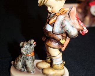 "M. J. Goebel Hummel Ceramic Figure ""Not For You"" # 317, 6""Tall"