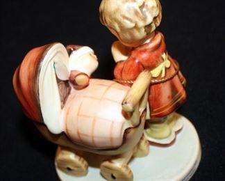 "M. J. Goebel Hummel Ceramic Figure ""Doll Mother"" # 67, 4.75"" Tall"