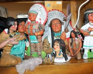 Native American Ceramic Assortment, By Mary, Qty 8