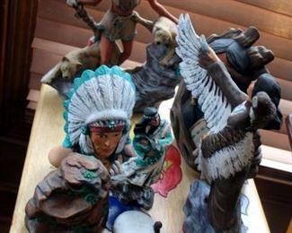 Native American Ceramic Assortment, Qty 7