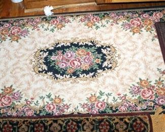"""Kitchen Area Rug Assortment, Qty 3, Largest Measures, 56"""" x 27"""", Qty 1, And 38"""" x 25"""" Approx, Qty 2"""