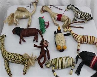 Jute Toy Lot