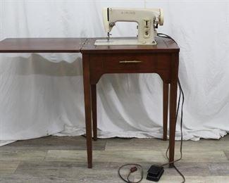 Vintage Singer Sewing Machine Cabinet Stand