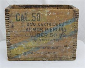 Vintage Ammunition Crate