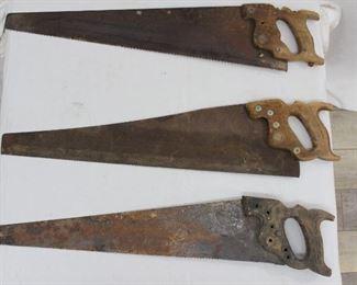 Vintage Hand Saws