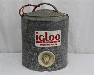 Vintage Igloo Industrial Water Cooler