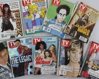 Vintage Collection of TV Guides