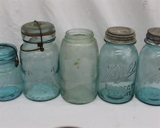 Vintage Jar Collections