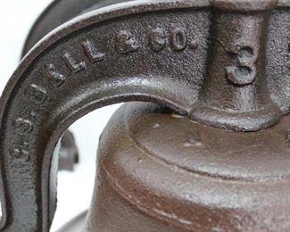 1886 Hills Bros. CS Bell Company Farm Bell