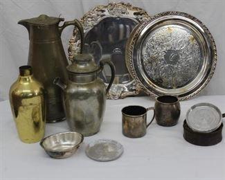 Metal Serve ware Lot