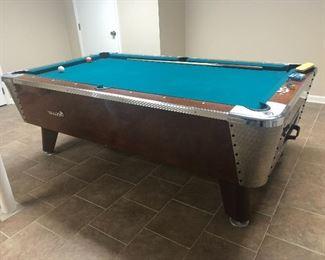 Amazing mid century pool table. $1500