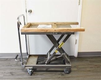 Pittsburgh Hydraulic Lift Table