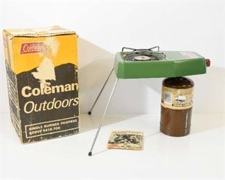 Coleman Single Burner Propane Stove
