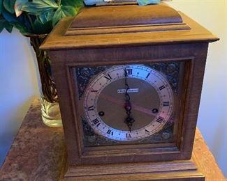 """Seth Thomas Clock $125 9""""W by 15"""" H by 6.5"""" D"""