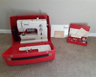 Bernia 830 Sewing Machine/Kit with Accessories
